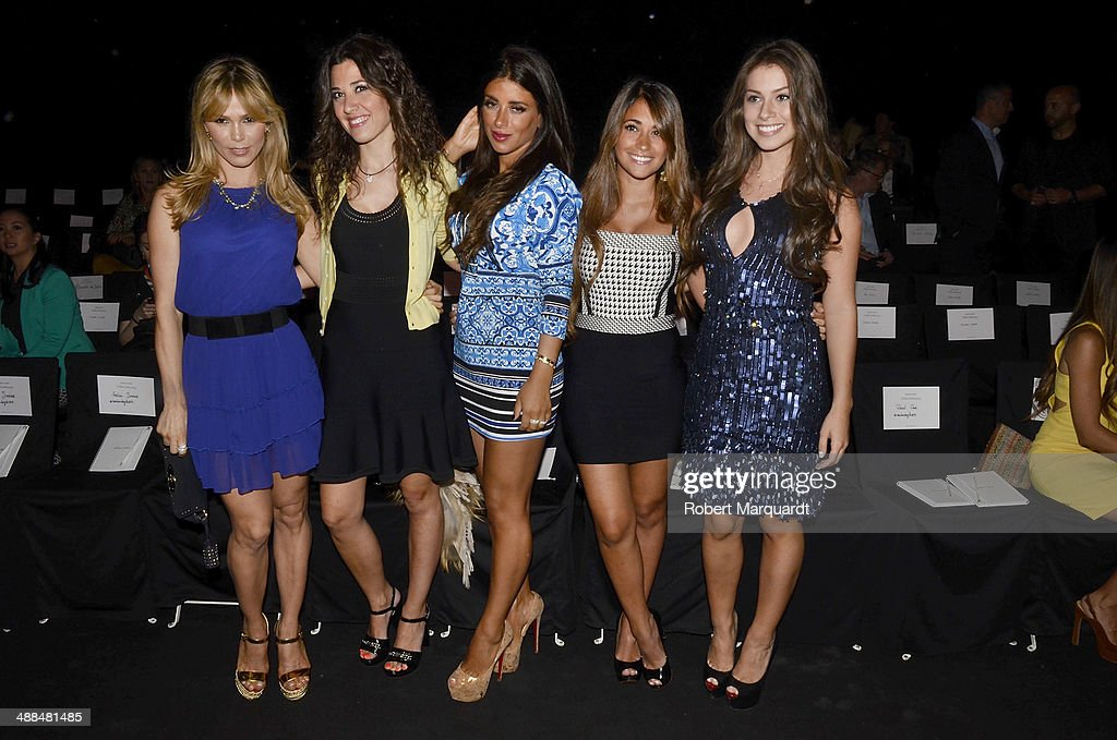 Yolanda Cardona, Nuria Cunillera, <a gi-track='captionPersonalityLinkClicked' href=/galleries/search?phrase=Daniella+Semaan&family=editorial&specificpeople=9511092 ng-click='$event.stopPropagation()'>Daniella Semaan</a>, <a gi-track='captionPersonalityLinkClicked' href=/galleries/search?phrase=Antonella+Roccuzzo&family=editorial&specificpeople=7088875 ng-click='$event.stopPropagation()'>Antonella Roccuzzo</a> and <a gi-track='captionPersonalityLinkClicked' href=/galleries/search?phrase=Gabriella+Lenzi&family=editorial&specificpeople=12789083 ng-click='$event.stopPropagation()'>Gabriella Lenzi</a> attend the Rosa Clara fashion show during 'Barcelona Bridal Week 2014' on May 6, 2014 in Barcelona, Spain.