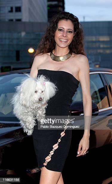 Yolanda Font attends 'Jaguar pasado presente y futuro de un Mito' exhibition on June 16 2011 in Madrid Spain