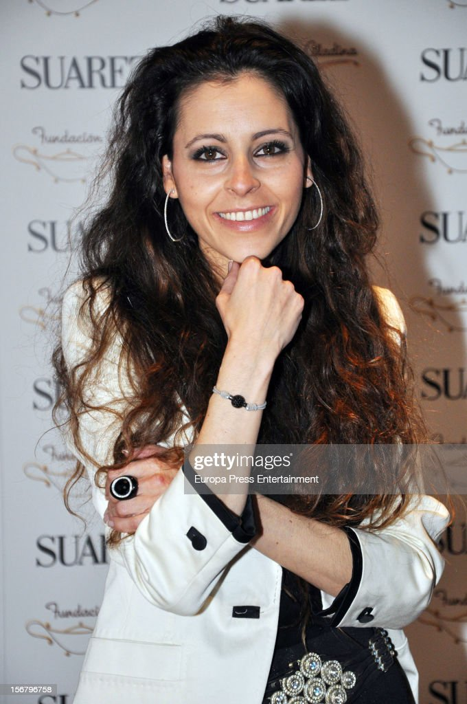 Yolanda Font attends the presentation of the charity bracelet by Suarez and Aladina Foundation on November 20, 2012 in Madrid, Spain.