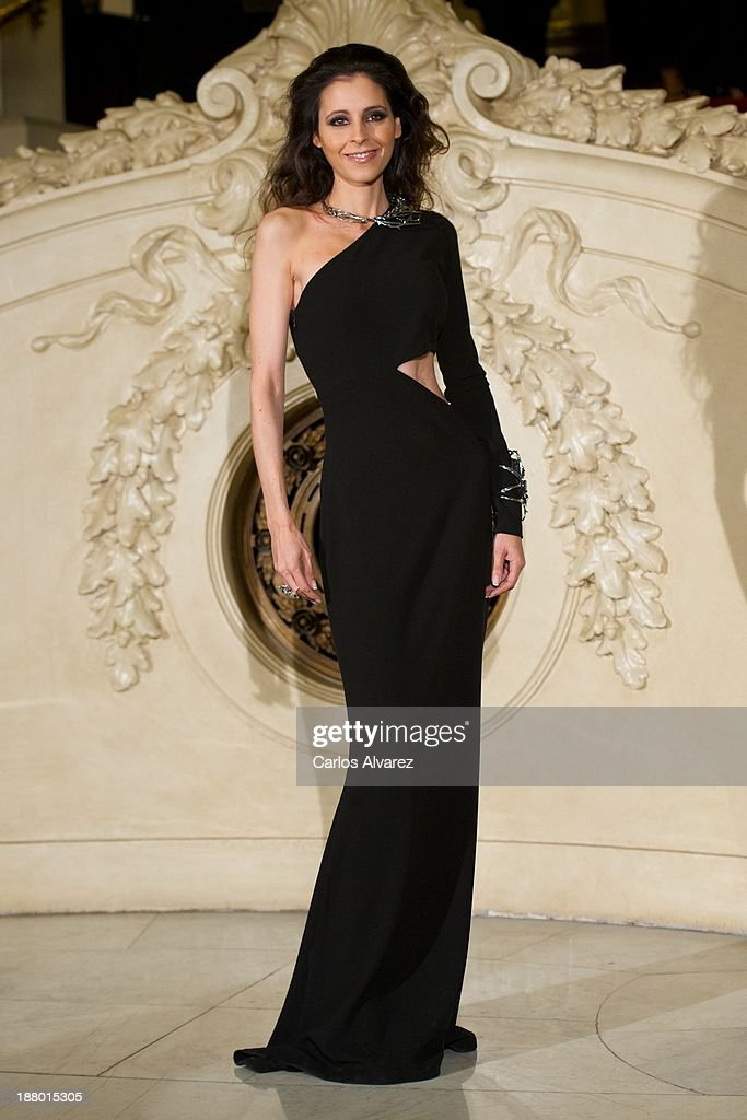Yolanda Font attends the Ralph Lauren Dinner Charity Gala at the Casino de Madrid in on November 14, 2013 in Madrid, Spain.