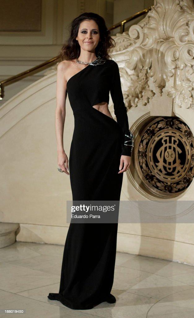 Yolanda Font attends the Ralph Lauren Dinner Charity Gala at the Casino de Madrid on November 14, 2013 in Madrid, Spain.