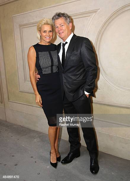 Yolanda Foster and David Foster attend the Celebrity Fight Night gala celebrating Celebrity Fight Night In Italy benefitting The Andrea Bocelli...