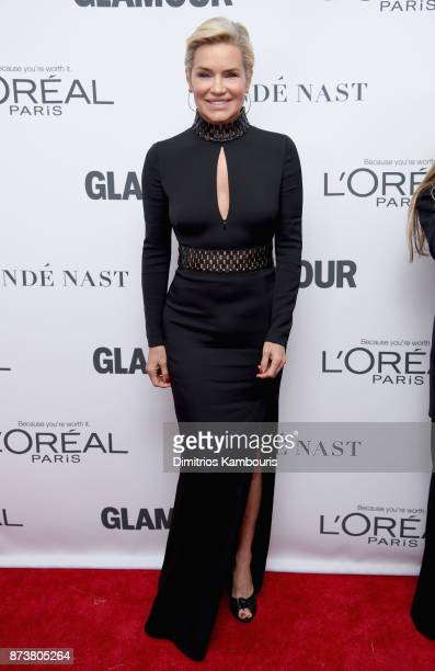 Yolanda Foster attends Glamour's 2017 Women of The Year Awards at Kings Theatre on November 13 2017 in Brooklyn New York