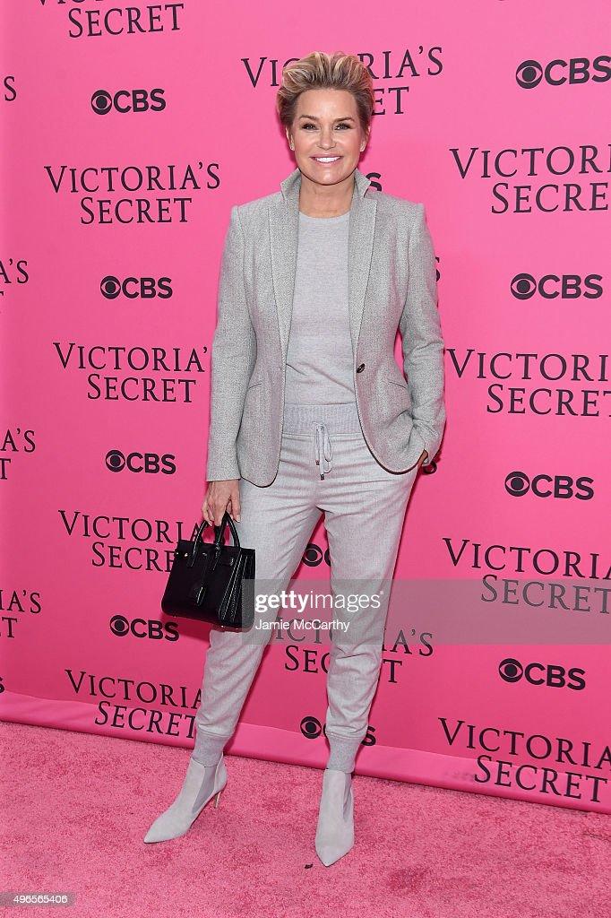 Yolanda Foster attends the 2015 Victoria's Secret Fashion Show at Lexington Avenue Armory on November 10, 2015 in New York City.