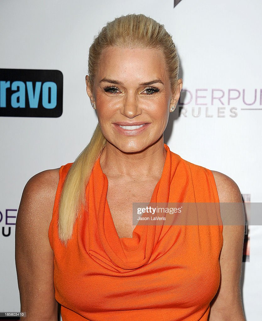 Yolanda Foster attends the 'The Real Housewives of Beverly Hills' and 'Vanderpump Rules' premiere party at Boulevard3 on October 23, 2013 in Hollywood, California.