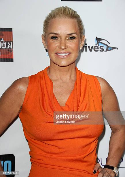 Yolanda Foster attends the 'The Real Housewives of Beverly Hills' and 'Vanderpump Rules' premiere party at Boulevard3 on October 23 2013 in Hollywood...