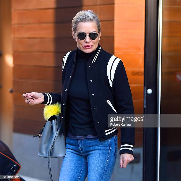 Yolanda Foster seen out in Manhattan on January 16 2017 in New York City