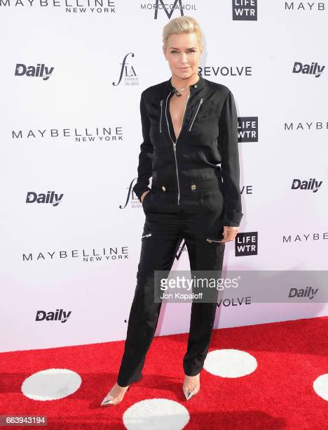 Yolanda Hadid arrives at the Daily Front Row's 3rd Annual Fashion Los Angeles Awards at the Sunset Tower Hotel on April 2 2017 in West Hollywood...