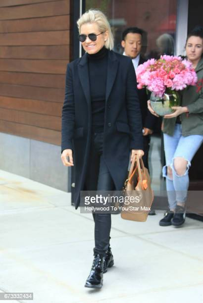 Yolanda Hadid is seen on April 25 2017 in New York City