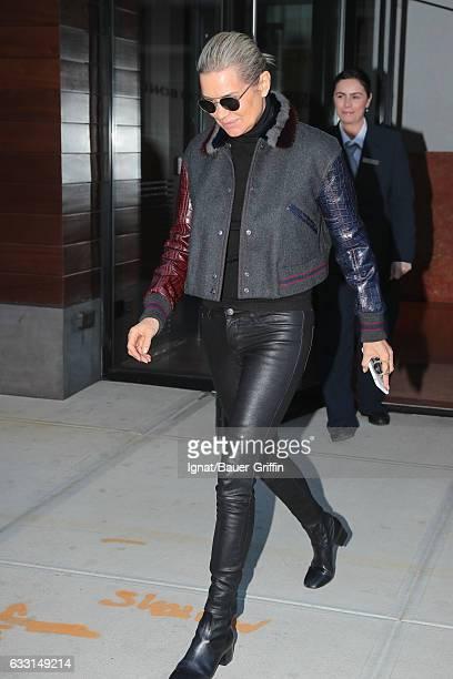 Yolanda Hadid is seen on January 30 2017 in New York City