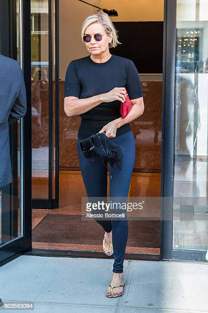 Yolanda Hadid is seen out and about on September 12 2016 in New York New York