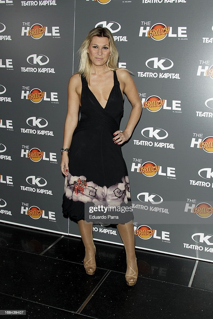 Yolanda Jimenez attends 'The crazy hole' premiere photocall at Kapital theatre on May 9, 2013 in Madrid, Spain.