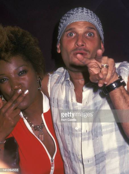Yolanda Ross and Phillip Bloch at the Playstation 2 Nelly Celebrate 2002 MTV VMA Eugene's New York City