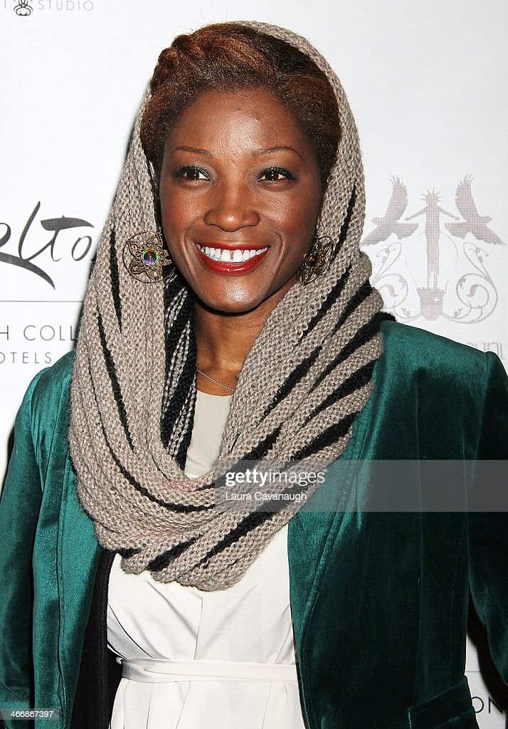 Yolanda Ross attends the 'I Love NY' Project to save the Garment District event at Carlton Hotel on February 4, 2014 in New York City.
