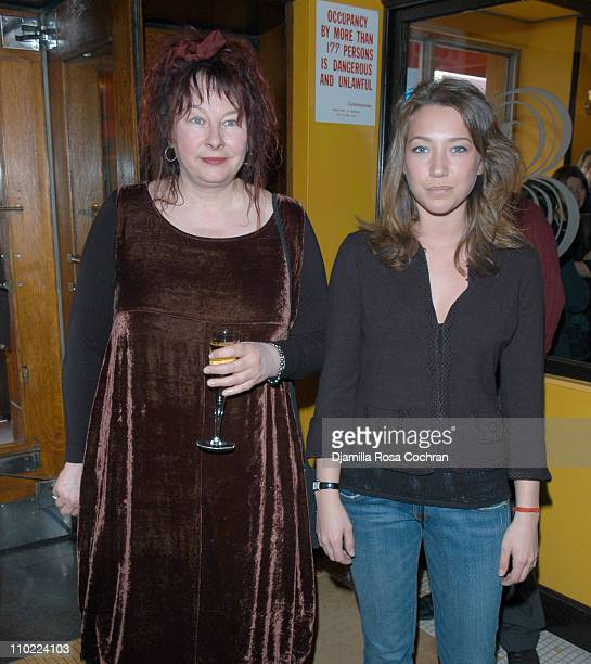 Yolande Moreau and Laura Smet during Rendezvous with French Cinema 2005 Press Luncheon in New York City at La Cote Basque in New York City New York...