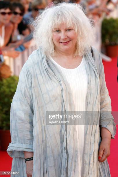 Yolande Moreau attends closing ceremony red carpet of 31st Cabourg Film Festival on June 17 2017 in Cabourg France