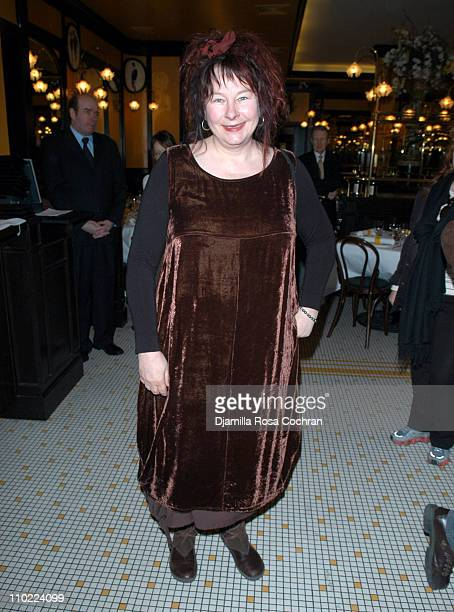 Yolande Moreau during Rendezvous with French Cinema 2005 Press Luncheon in New York City at La Cote Basque in New York City New York United States