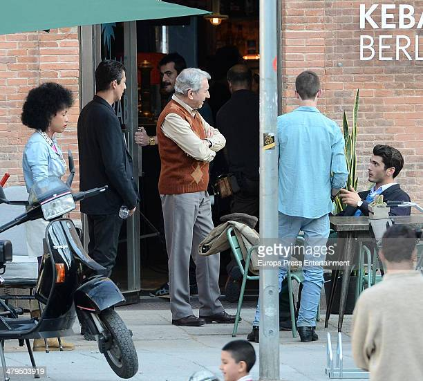 Yon Gonzalez and Jose Sacristan are is seen on March 18 2014 in Madrid Spain