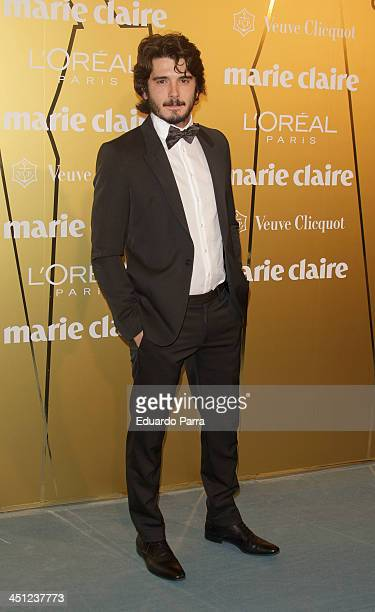 Yon Gonzalez attends 'Marie Claire Prix de la moda' awards 2013 photocall at Residence of France on November 21 2013 in Madrid Spain