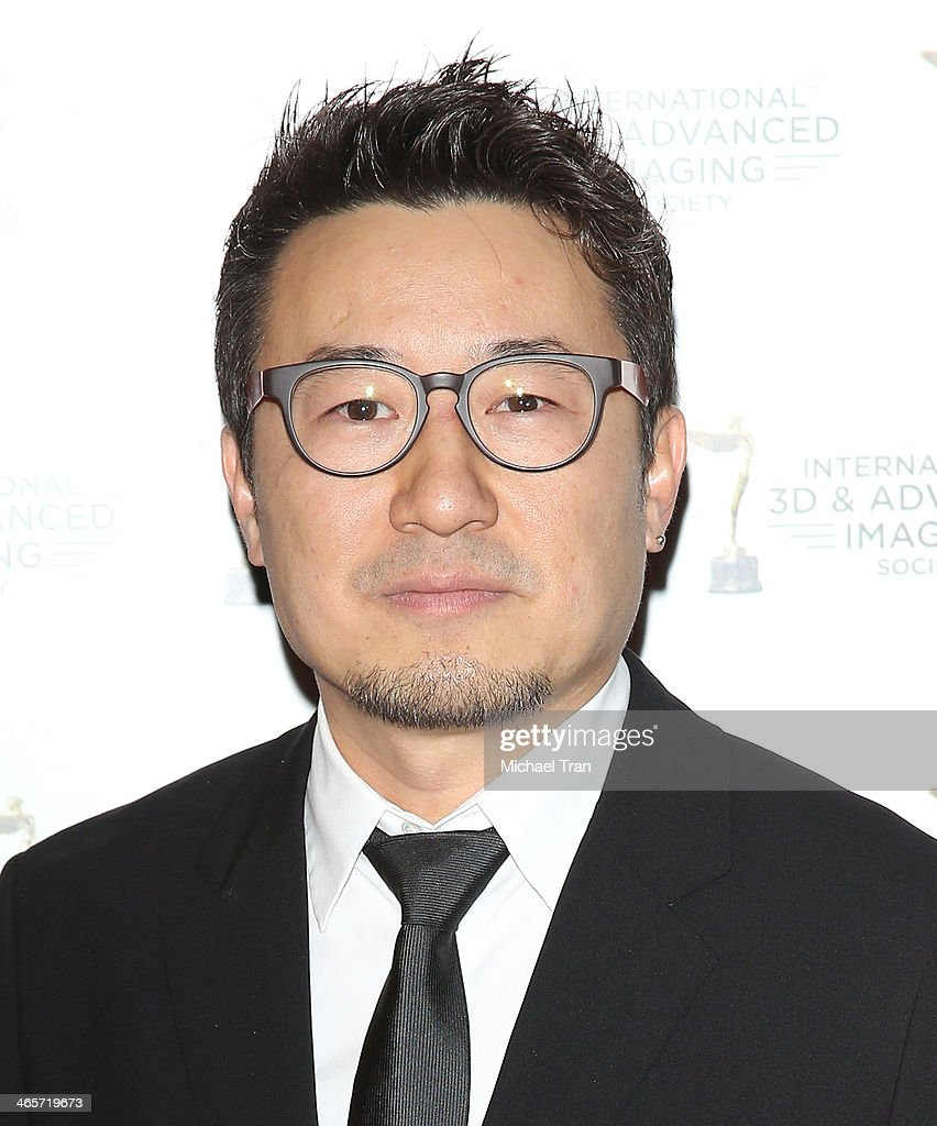 Yong Duk Jhun arrives at the 2014 International 3D and Advanced Imaging Society's Creative Arts Awards held at Steven J. Ross Theatre on January 28, 2014 in Burbank, California.