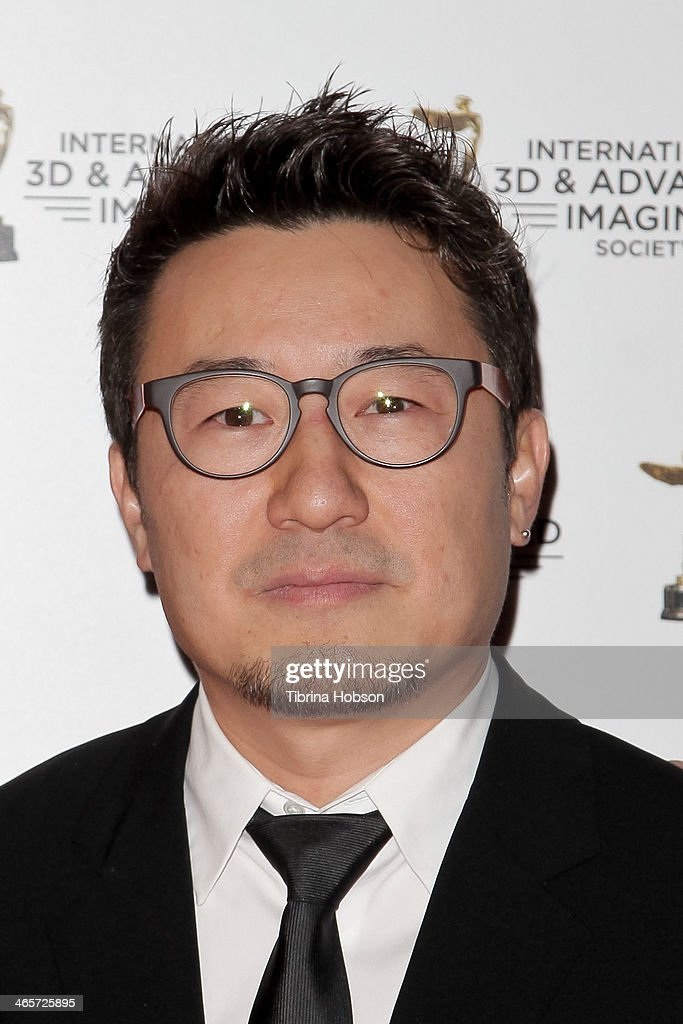 Yong Duk Jhun attends the annual International 3D and Advanced Imaging Society's Creative Arts Awards at Warner Bros. Studios on January 28, 2014 in Burbank, California.
