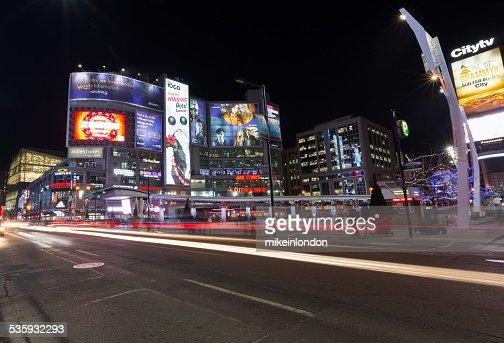 Yonge and Dundas Square : Stock Photo