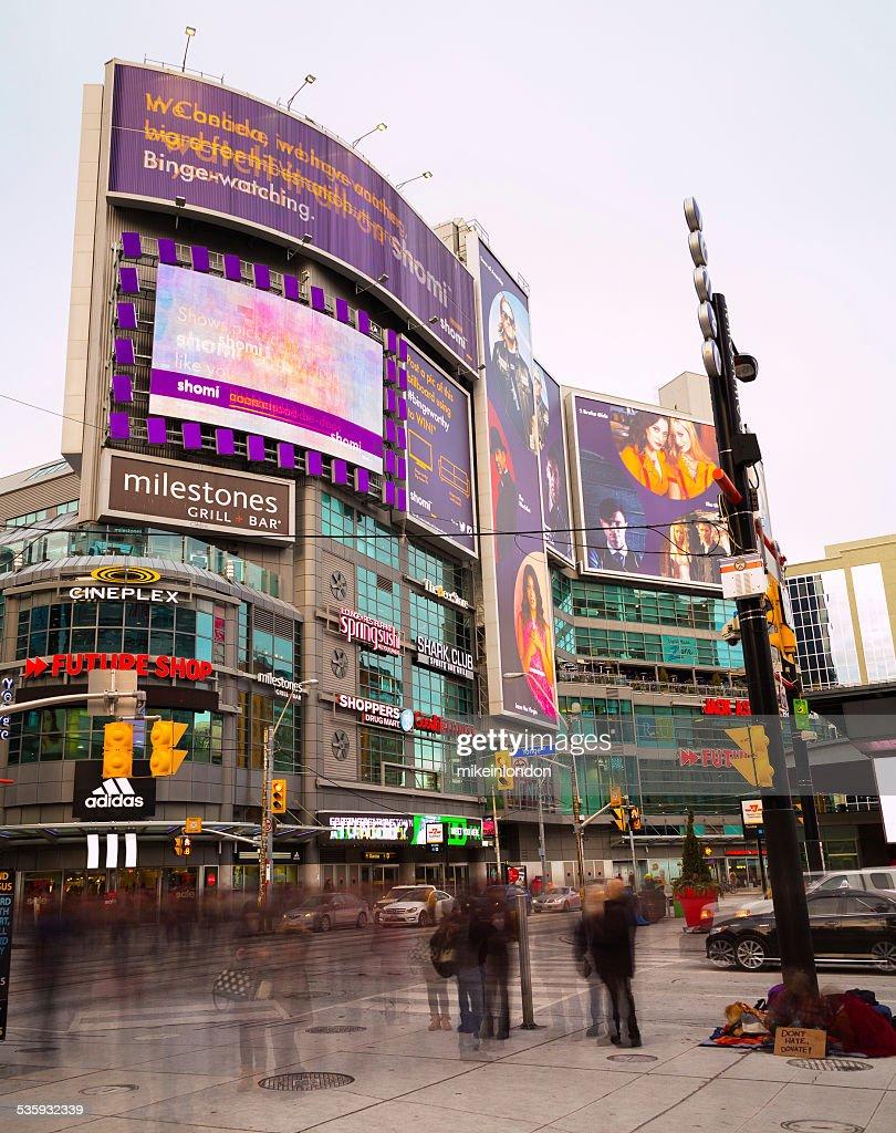 Yonge and Dundas Square Toronto : Stock Photo