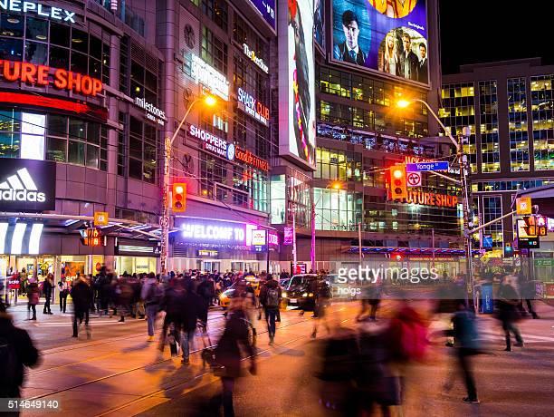 Yonge Street in Toronto, Canada