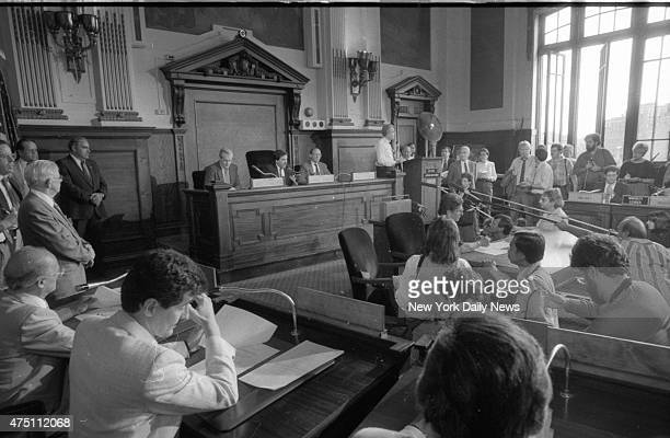 Yonkers city council votes to pay city's $819200 fine imposed by US District Judge Leonard Sand after defying courtordered desegregation plan