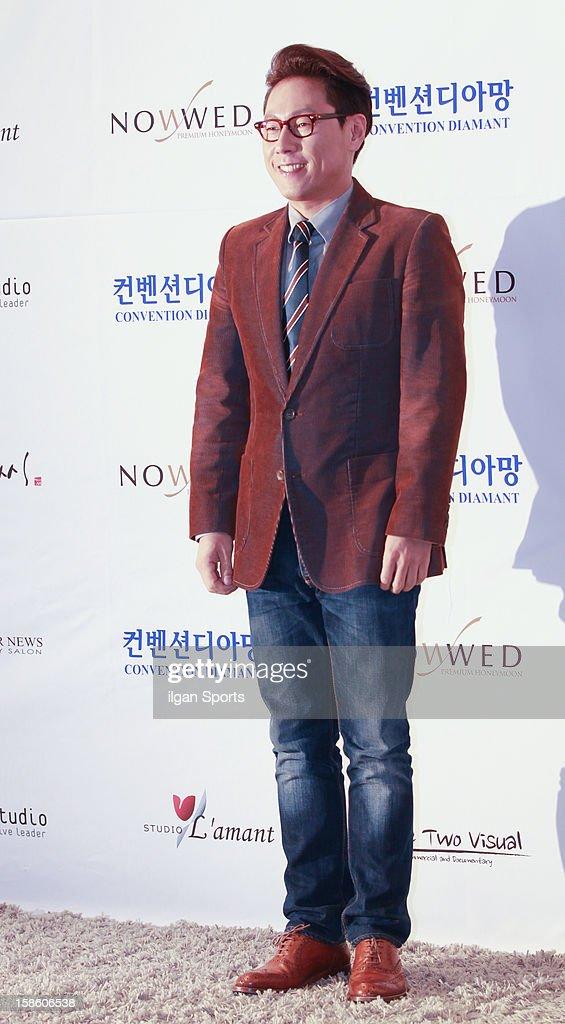 Yoon Jong-Shin attends Hong Rok-Gi's wedding at Convention diaMant on December 16, 2012 in Seoul, South Korea.