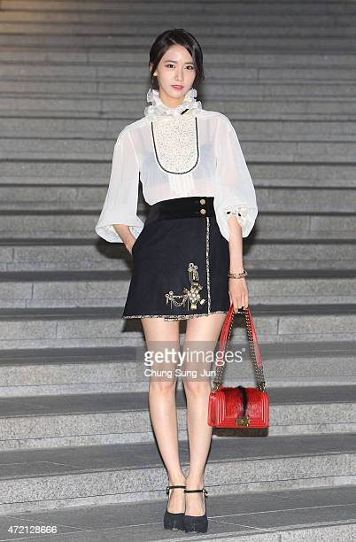 Yoona arrives the Chanel 2015/16 Cruise Collection show on May 4 2015 in Seoul South Korea