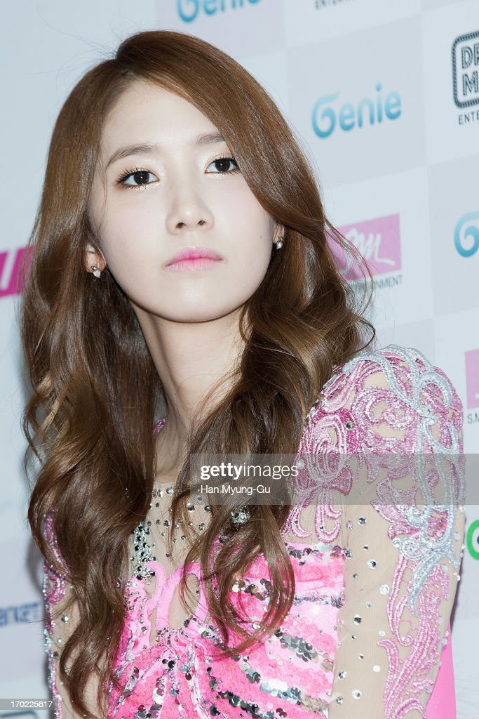 Yoona of South Korean girl group Girls' Generation attends during the Girls' Generation World Tour 'Girls & Peace' press conference at Olympic Gymnasium on June 9, 2013 in Seoul, South Korea.