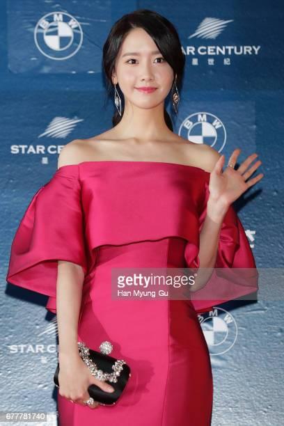 Yoona of South Korean girl group Girls' Generation attends the 53rd Baeksang Arts Awards at COEX on May 3 2017 in Seoul South Korea