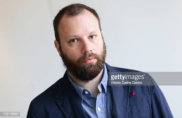 Yorgos Lanthimos attends the International Jury Photocall during 66th Locarno Film Festival on August 8 2013 in Locarno Switzerland