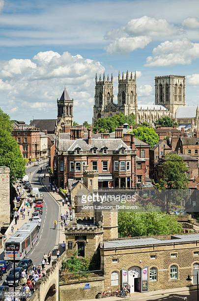 York, Lendal Bridge and The Minster