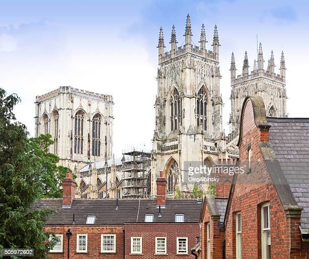 York Minster Cathedral, York, England, UK.