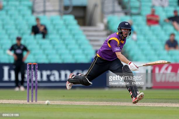 Yorkshire Gary Balance in action against Surrey
