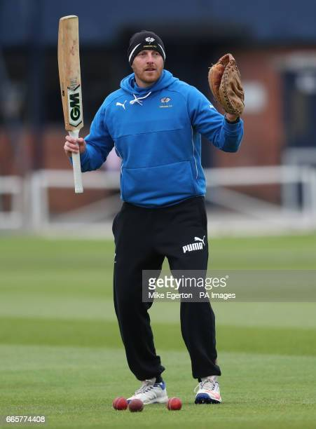 Yorkshire head coach Andrew Gale during day one of the Specsavers County Cricket Championships Division One match at Headingley Leeds