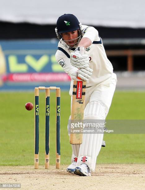 Yorkshire's Andrew Gale during day four of the LV County Championship match at Headingley Cricket Ground Leeds