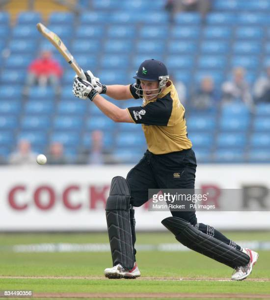 Yorkshire's Andrew Gale during the Friends Provident Trophy match at Headingley Leeds