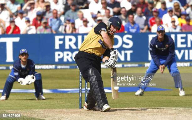 Yorkshire's Andrew Gale during the Friend's Provident Trophy Semi Final match at The County Ground Chelmsford Essex