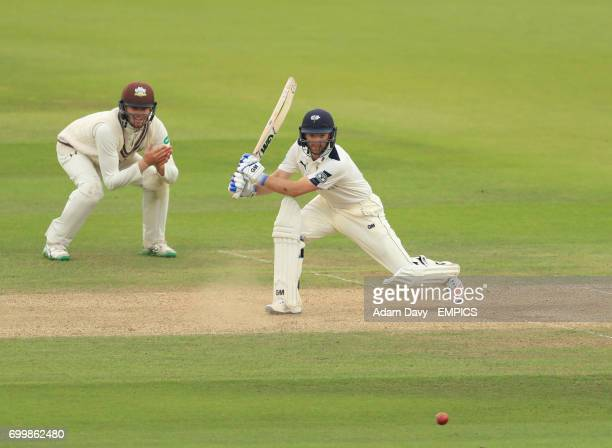 Yorkshire's Andrew Gale in action against Surrey