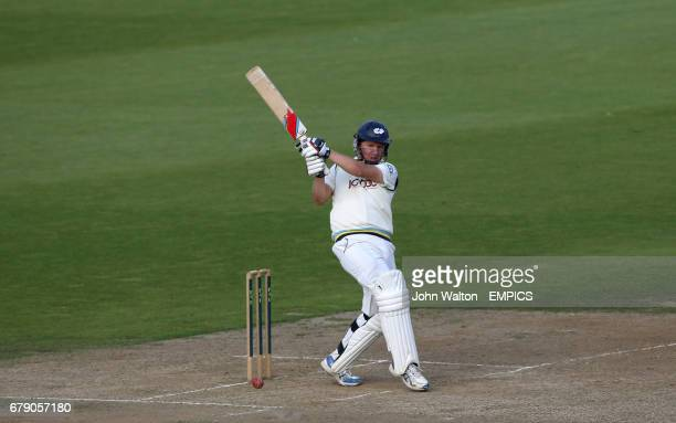 Yorkshire's Gary Ballance on his way to a score of 108 not out