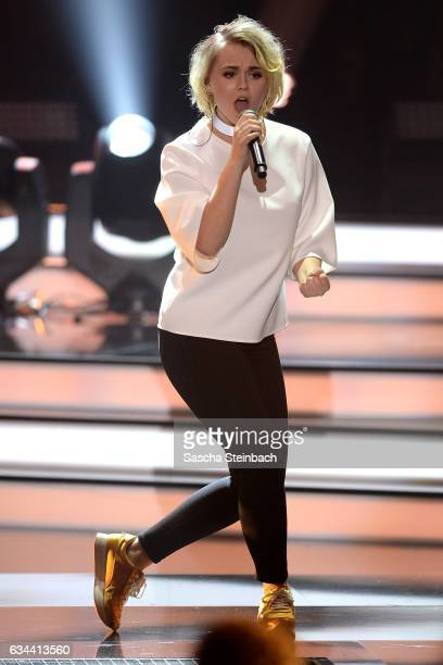 Yosefin Buohler attends the 'Eurovision Song Contest 2017 Unser Song' show on February 9 2017 in Cologne Germany
