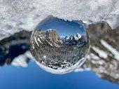 Crystal ball Yosemite winter