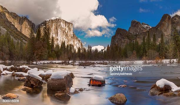 Yosemite National Park in Winter , California