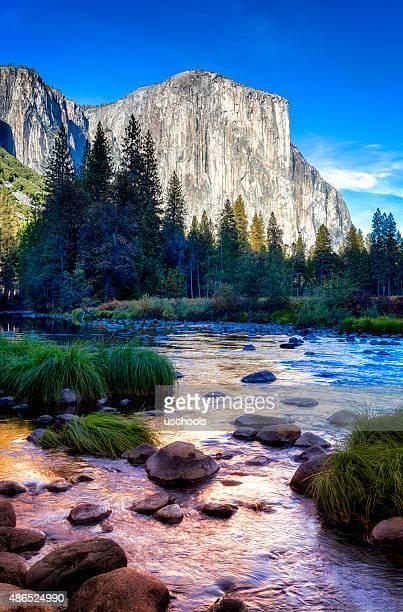 Lever du soleil de Yosemite