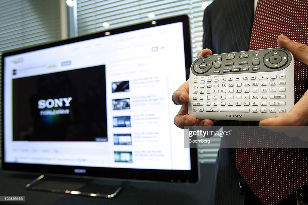 sony internet tv. yoshihisa ishida, sony corp.\u0027s senior vice president and of the home internet tv