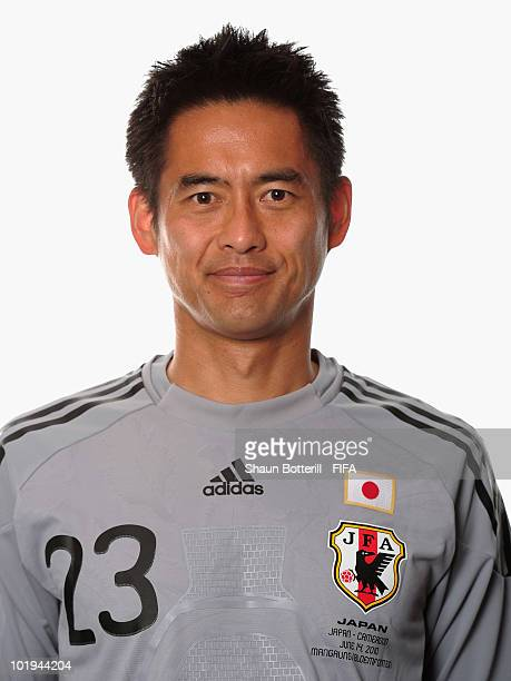 Yoshikatsu Kawaguchi of Japan poses during the official FIFA World Cup 2010 portrait session on June 9 2010 in George South Africa