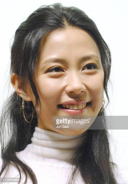 Yoshino Kimura during 'Open Season' Stage Greeting December 9 2006 at Nichigeki 3 in Tokyo Japan